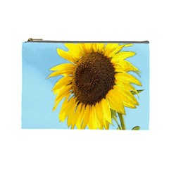 Sunflower Cosmetic Bag (large)