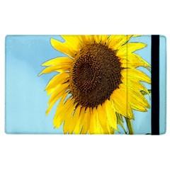 Sunflower Apple Ipad 2 Flip Case