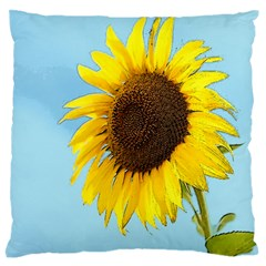 Sunflower Standard Flano Cushion Case (one Side)