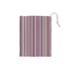 Lines Drawstring Pouches (small)
