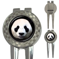 Panda Face 3 In 1 Golf Divots