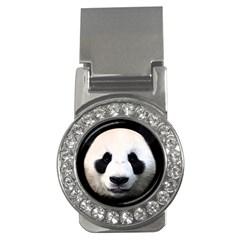 Panda Face Money Clips (cz)
