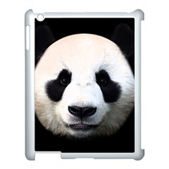 Panda Face Apple Ipad 3/4 Case (white)