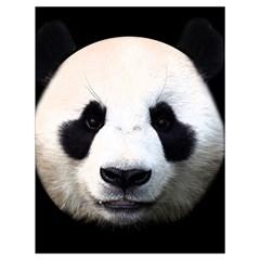 Panda Face Drawstring Bag (large)