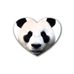 Panda Face Heart Coaster (4 Pack)