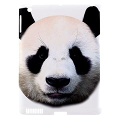 Panda Face Apple Ipad 3/4 Hardshell Case (compatible With Smart Cover)