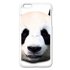 Panda Face Apple Iphone 6 Plus/6s Plus Enamel White Case