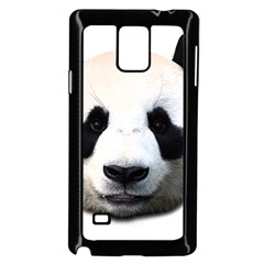 Panda Face Samsung Galaxy Note 4 Case (black)