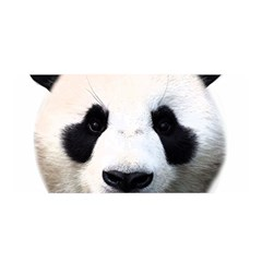 Panda Face Satin Wrap