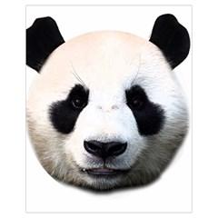 Panda Face Drawstring Bag (small)