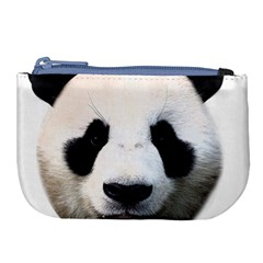Panda Face Large Coin Purse