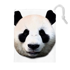 Panda Face Drawstring Pouches (extra Large)
