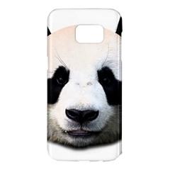 Panda Face Samsung Galaxy S7 Edge Hardshell Case