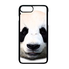 Panda Face Apple Iphone 7 Plus Seamless Case (black)