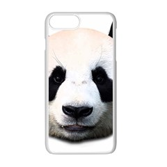 Panda Face Apple Iphone 7 Plus White Seamless Case