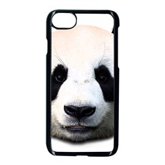 Panda Face Apple Iphone 7 Seamless Case (black)