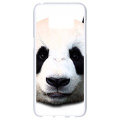 Panda Face Samsung Galaxy S8 White Seamless Case