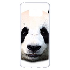 Panda Face Samsung Galaxy S8 Plus White Seamless Case