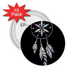 Dreamcatcher  2 25  Buttons (10 Pack)