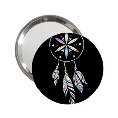 Dreamcatcher  2 25  Handbag Mirrors