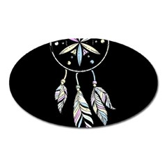 Dreamcatcher  Oval Magnet