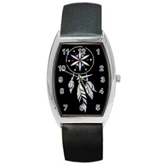 Dreamcatcher  Barrel Style Metal Watch