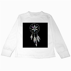 Dreamcatcher  Kids Long Sleeve T Shirts