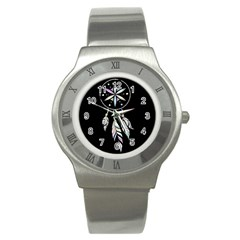 Dreamcatcher  Stainless Steel Watch