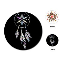Dreamcatcher  Playing Cards (round)