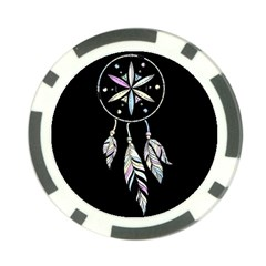 Dreamcatcher  Poker Chip Card Guard