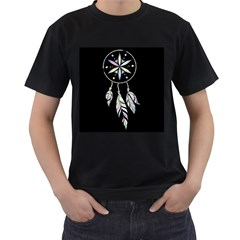Dreamcatcher  Men s T Shirt (black)