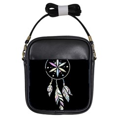 Dreamcatcher  Girls Sling Bags
