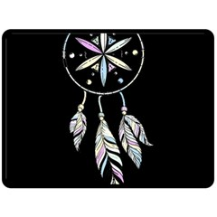 Dreamcatcher  Fleece Blanket (large)