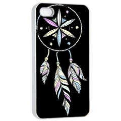 Dreamcatcher  Apple Iphone 4/4s Seamless Case (white)