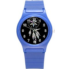 Dreamcatcher  Round Plastic Sport Watch (s)