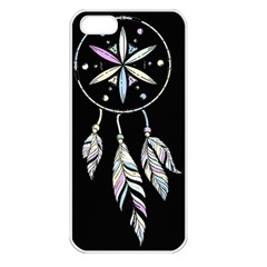 Dreamcatcher  Apple Iphone 5 Seamless Case (white)