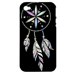 Dreamcatcher  Apple Iphone 4/4s Hardshell Case (pc+silicone)