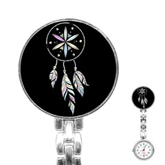 Dreamcatcher  Stainless Steel Nurses Watch