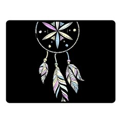 Dreamcatcher  Double Sided Fleece Blanket (small)