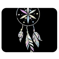 Dreamcatcher  Double Sided Flano Blanket (medium)