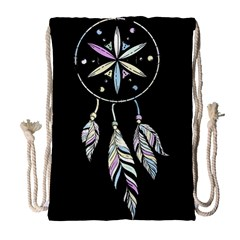 Dreamcatcher  Drawstring Bag (large)