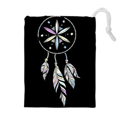 Dreamcatcher  Drawstring Pouches (extra Large)