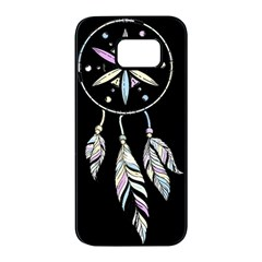 Dreamcatcher  Samsung Galaxy S7 Edge Black Seamless Case