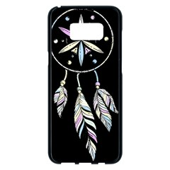Dreamcatcher  Samsung Galaxy S8 Plus Black Seamless Case