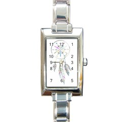 Dreamcatcher  Rectangle Italian Charm Watch