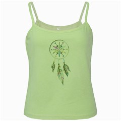 Dreamcatcher  Green Spaghetti Tank
