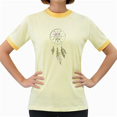 Dreamcatcher  Women s Fitted Ringer T Shirts