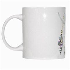 Dreamcatcher  White Mugs
