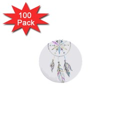Dreamcatcher  1  Mini Buttons (100 Pack)