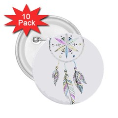 Dreamcatcher  2 25  Buttons (10 Pack)